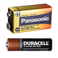 Alkaline batteries are not considered household toxins and should be thrown away.