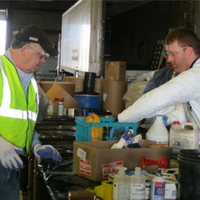 Household toxins and electronics are accepted at Commission-sponsored drop-off events.