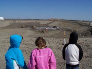 Youth education at the Black Hawk County Sanitary Landfill.