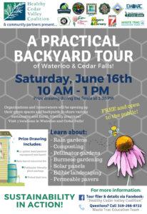 A Practical Backyard Tour on June 16th
