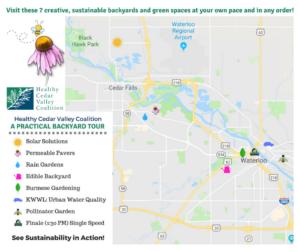 A Practical Backyard Tour Map